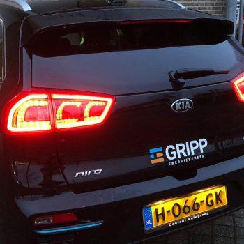 Belettering personenauto - GRIPP