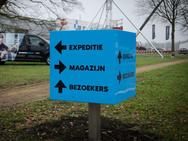 Bewegwijzering - De Bruyn Metaal