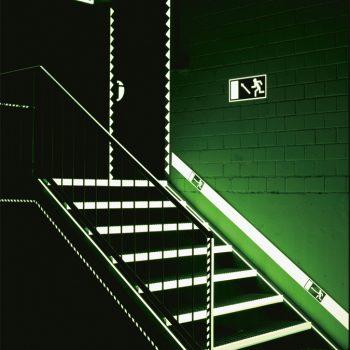 Bewegwijzering glow-in-the-dark
