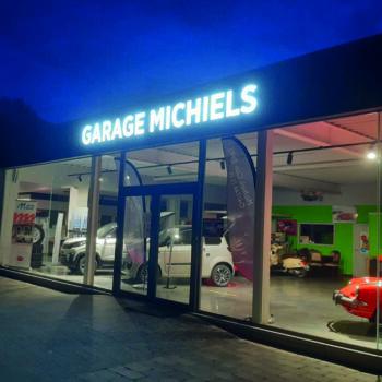 Lichtreclame - Garage Michiels