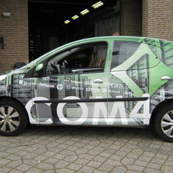 Carwrap persoenauto - COM4