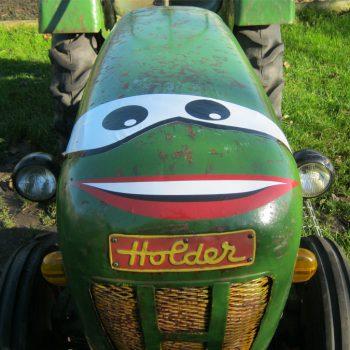 Belettering tractor