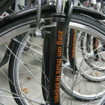 Belettering fiets