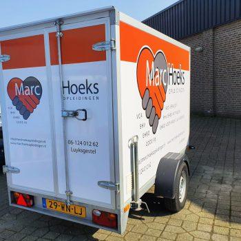 Aanhanger Marc Hoeks Opleidingen
