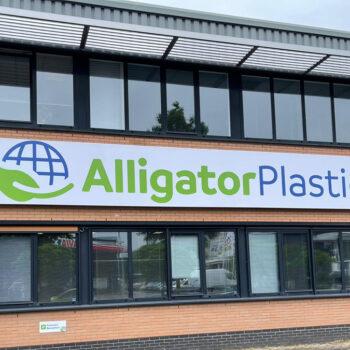 Reclamebord - Alligator Plastics