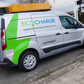 Voertuigbelettering - Ecocharge