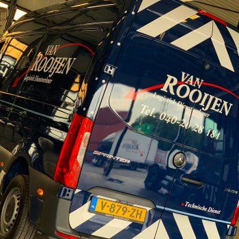 Autobelettering Bestelbussen - Van Rooijen