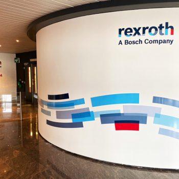 Bosch Rexroth - Wanddecoratie