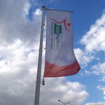 Vlag met vlaggenmast