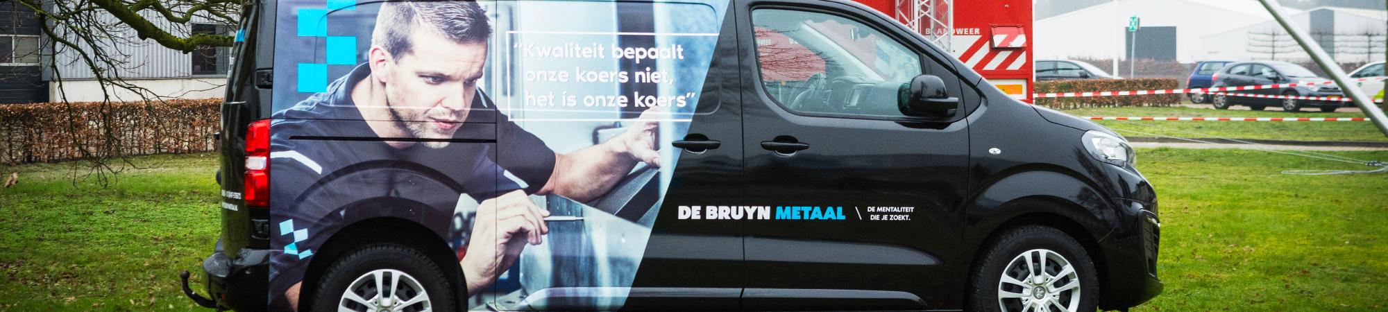 Bestelbussen - De Bruyn Metaal
