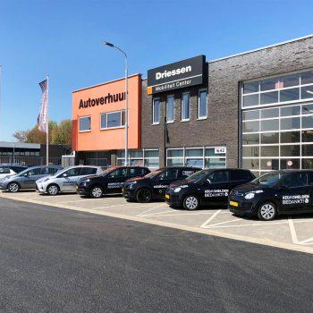Belettering wagenpark - Driessen Autogroep