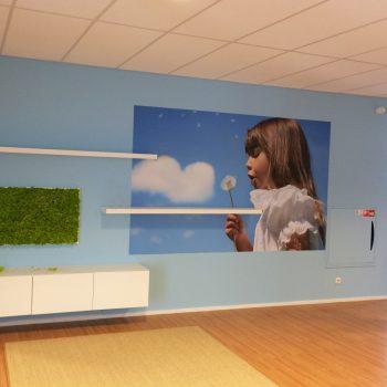 Wanddecoratie - Hub