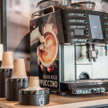 Promotiematerialen - Koffiemachine Maas