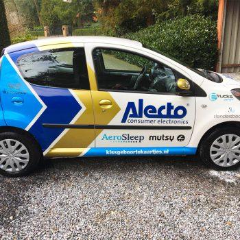 Alecto_Cyclingteam_Autobelettering_Carwrap