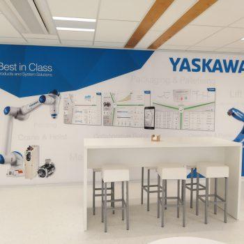 Presentatiewand - Yaskawa
