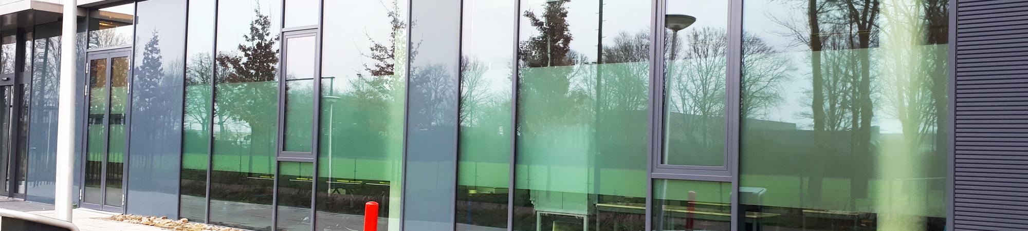 Raamfolie - Stedelijk College