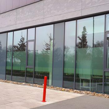 Raambelettering - Stedelijk College Eindhoven