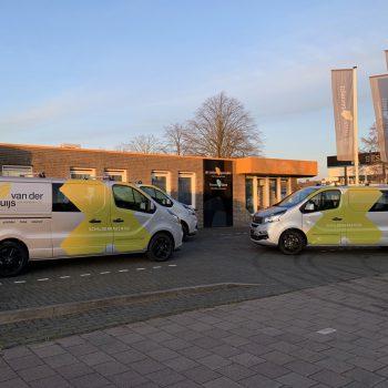 Belettering wagenpark - Van der Kruijs