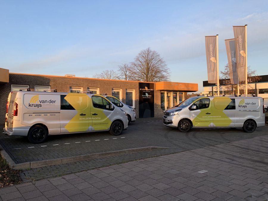 Van der Kruijs_Wagenpark_Voertuigbelettering