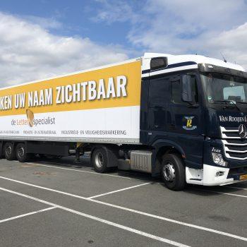 De Letterspecialist_Voertuigbelettering_Vrachtwagen