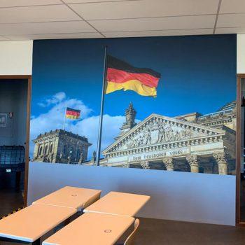 Wanddecoratie - Stedelijk College