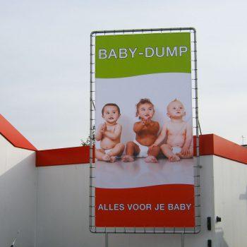 Spandoeken en frames - Babydump