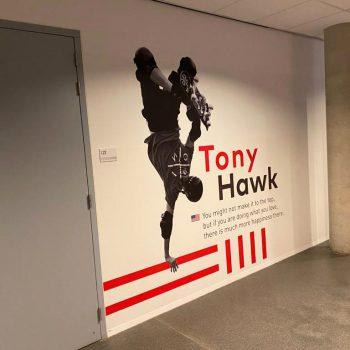 Wanddecoratie - Stedelijk College Eindhoven
