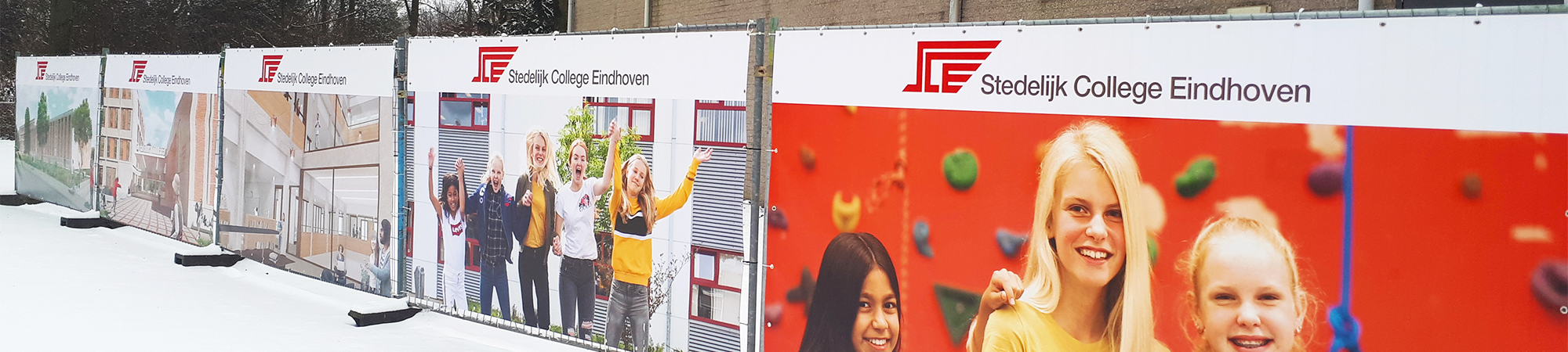 Bouwhekdoek - Stedelijk College Eindhoven