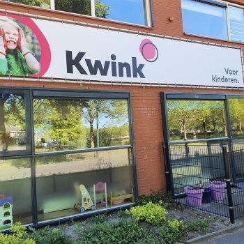 Spandoek met frame - Kwink
