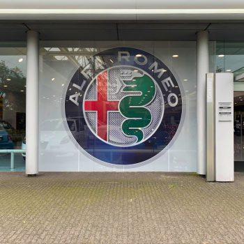 Raamdecoratie - Alfa Romeo