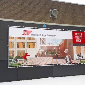 Spandoeken en frames_Stedelijk College Eindhoven