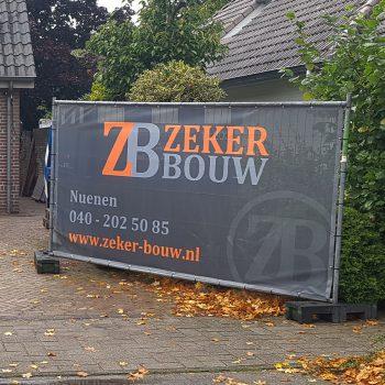 Bouwhekdoek - Zeker Bouw