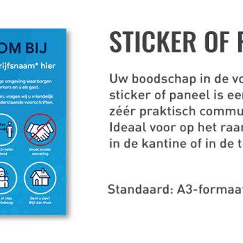 Sticker - Paneel