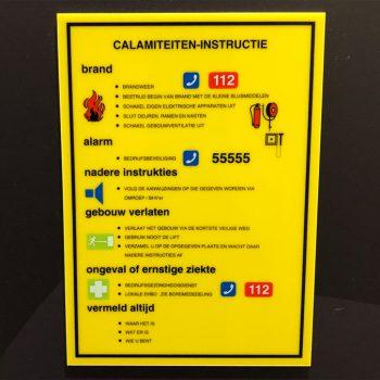 Calamiteiten instructie