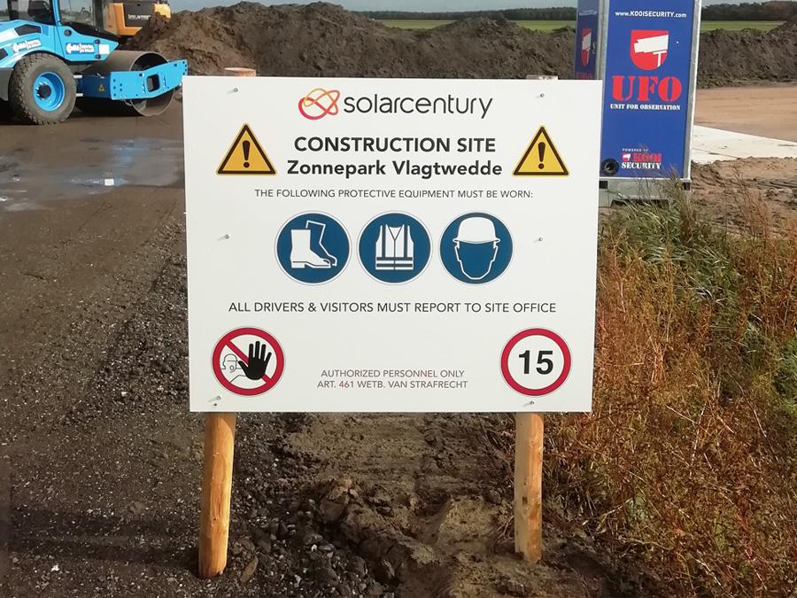 Veiligheidsborden - SolarCentury