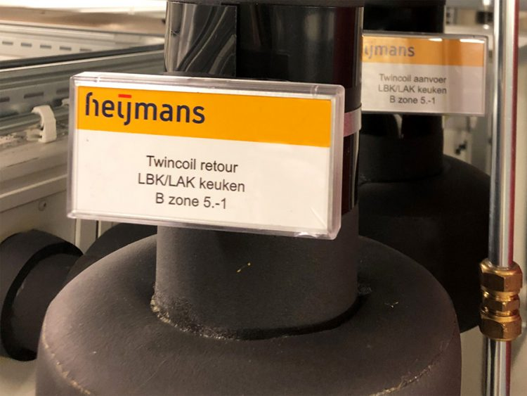 Leidingcodering - Heijmans