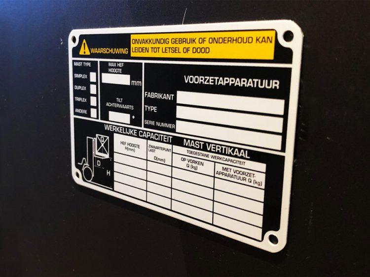 Beschrijfbare labels Verver-Best